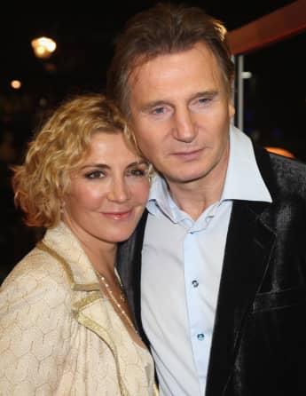 Natasha Richardson und Liam Neeson beim Londoner Film Festival