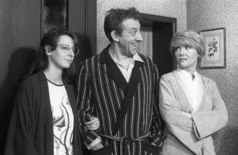 """In """"Didi - der Untermieter"""" übernahmen Dieter Hallervorden, seine Tochter Nathalie und seine frühere Ehefrau Rotraud Schindler die Hauptrollen"""