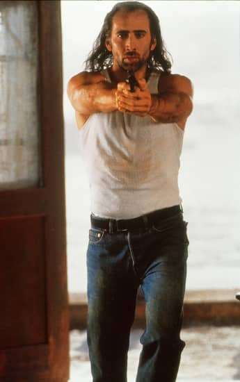 "Nicolas Cage in ""Con Air"""