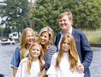 So stolz präsentiert König Willem-Alexander seine Familie