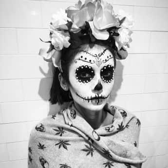Nina Dobrev Halloween 2017