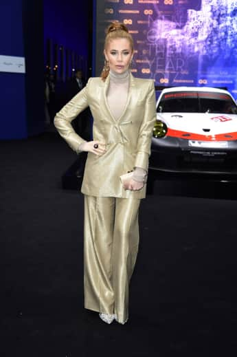 Palina Rojinski zeigte sich bei den GQ Men of the Year Awards in einem strengen Look