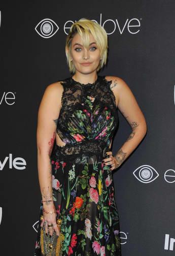 Paris Jackson Golden Globes Dress