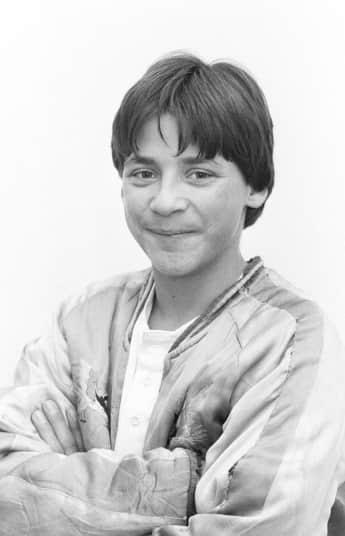 """Silas""-Hauptdarsteller Patrick Bach 1985"