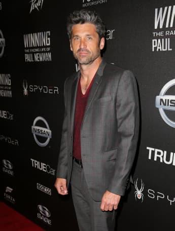 """Patrick Dempsey spielte seit 2005  """"McDreamy"""" in der Serie  """"Grey's Anatomy"""""""