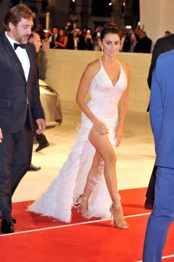 Penelope Cruz im sexy Abendkleid