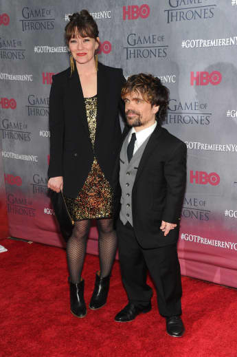 """Peter Dinklage aus """"Game of Thrones"""" und seine Frau Erica Schmidt"""