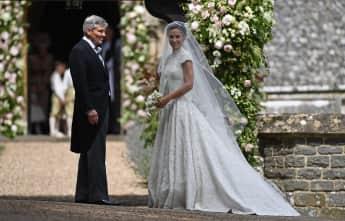 Pippa Middleton und ihr Vater Michael Middleton
