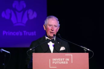 Prince Charles speaking at the Prince's Trust Invest in Futures event on Thursday February 7th, 2019