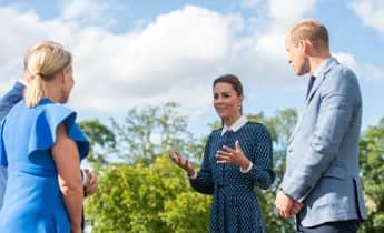 Prinz William und Herzogin Kate besuchen Krankenhauspersonal