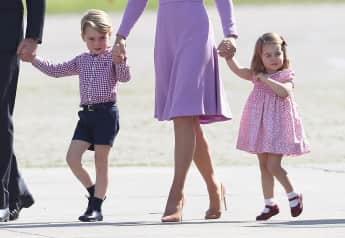 Prinz George Prinzessin Charlotte Deutschland