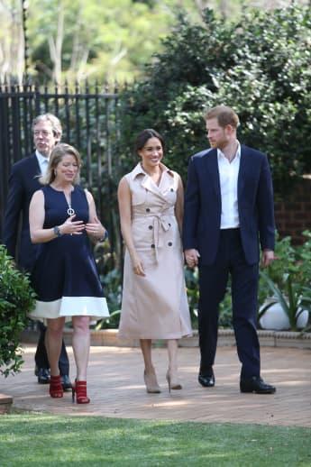 Prinz Harry Herzogin Meghan Afrika