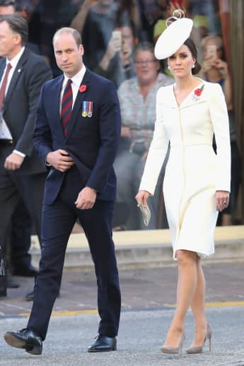Prinz William Herzogin Kate Belgien