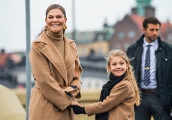 Prinzessin Victoria und Prinzessin Estelle; Royals