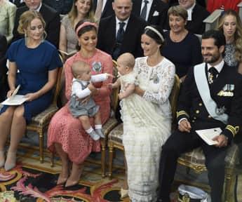 Prinzessin Victoria von Schweden Prinzessin Sofia von Schweden Söhne Prinz Oscar Prinz Alexander