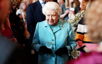 Queen Elizabeth II at an event