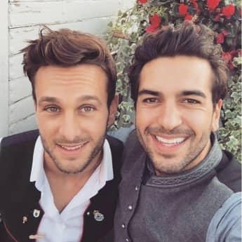 Raphael und Elyas M'Barek auf dem Oktoberfest