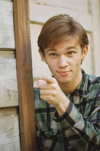"Richard Thomas as ""John-Boy"" in ""The Waltons"""
