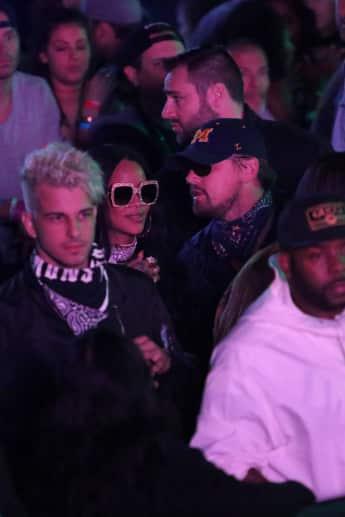 Rihanna und Leonardo DiCaprio feiern auf dem Coachella Festival