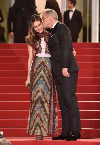 Robbie Williams und seine Frau Ayda in Cannes 2015