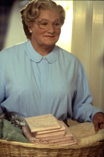 """Robin Williams in der gleichnamigen Titelrolle in """"Mrs. Doubtfire"""""""