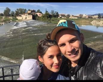 Glückliche Eltern: Sarah Engels und Pietro Lombardi mit ihrem Sohn Alessio