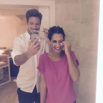 Sebastian und Clea-Lacy: Ihr erstes Liebes-Selfie