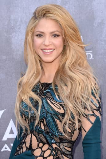 The Columbian Pop sensation Shakira