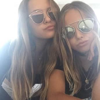 Shania und Davina Geiss zeigen sich stylish auf Instagram