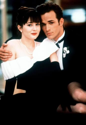 Shannon Doherty und Luke Perry Beverly Hills 90210