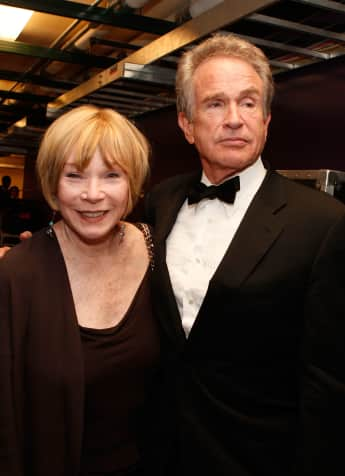 Shirley MacLaine und Warren Beatty