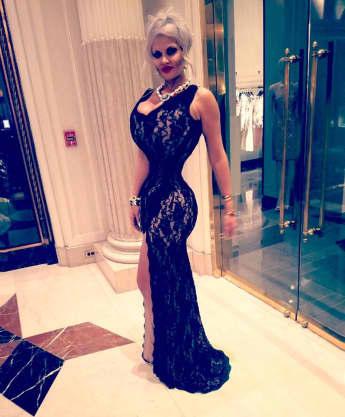 Sophia Vegas' Taille soll offenbar noch schmaler werden, Sophia Wollersheim