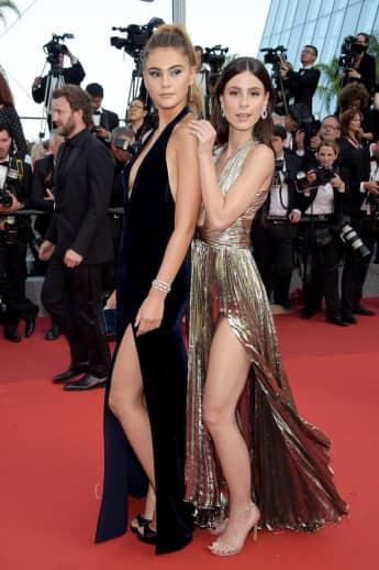 Stefanie Giesinger und Lena Meyer-Landrut 2017 in Cannes