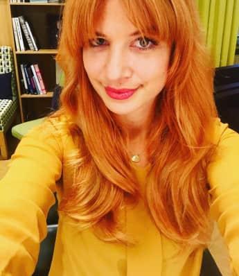 Susan Sideropoulos zeigt ihre neue Frisur