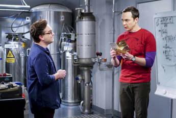 """Leonard"" und ""Sheldon"" aus ""The Big Bang Theory"" Namen deshalb heißen sie so"