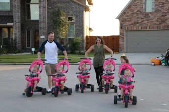 TLC neue Staffel Mädels-Alarm Sechs Töchter im Haus Fünflinge junges Ehepaar