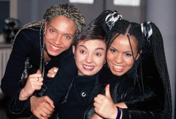 Die Sängerinnen von Tic Tac Toe 1996