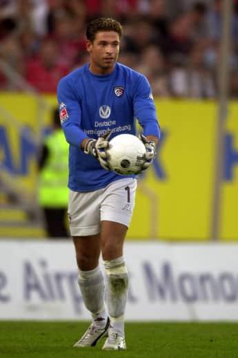 Tim Wiese früher Fußballer Wrestler