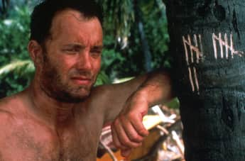 "Tom Hanks in ""Cast Away – Verschollen"""