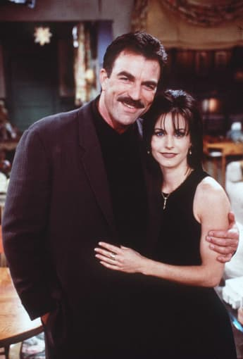 Tom Selleck und Courteney Cox spielten ein Paar in Friends