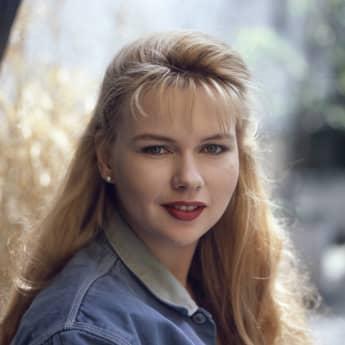 Veronica Ferres im Jahr 1988