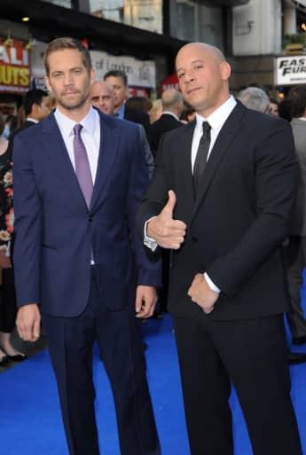 Vin Diesel und Paul Walker