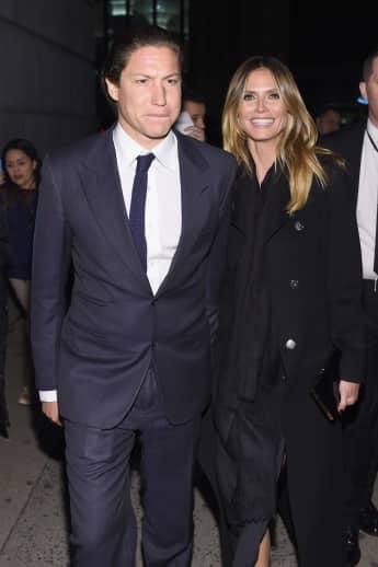 Heidi Klum und Vito Schnabel sind seit 2014 zusammen Topmodel Kunsthändler amfAR New York Gala