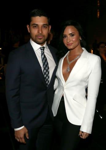 Wilmer Valderrama und Demi Lovato