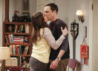 """Amy"" (Jim Parsons, 44) und ""Sheldon"" (Mayim Bialik, 41) aus ""The Big Bang Theory"""