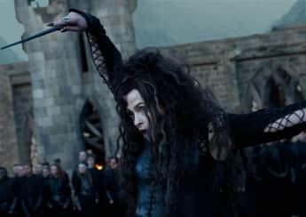 """""""Bellatrix Lestrange"""", gespielt von Helena Bonham Carter"""