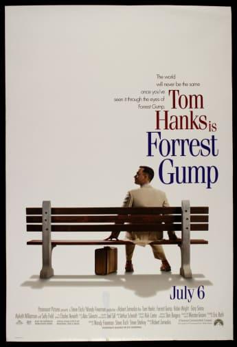 """""""Forrest Gump"""" film poster"""