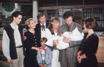 """""""Forsthaus Falkenau""""-Darsteller im Jahr 1988"""
