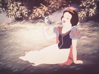 """""""Schneewittchen"""" aus dem Disney-Zeichentrickklassiker"""
