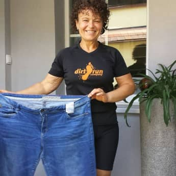 """The Biggest Loser"" Andrea mit alter Hose"